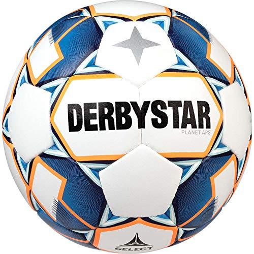 Derbystar Erwachsene Planet APS, 1028500167 Fußball, Weiss blau orange, 5