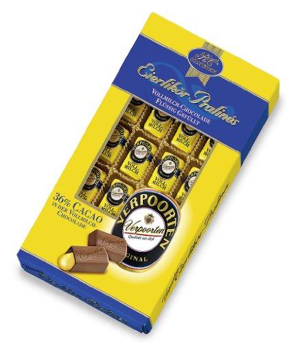 RCP Verpoorten Eierlikör-Pralinés, Vollmilch-Schokolade, Flüssige Füllung, Alkoholhaltig, Tolles Geschenk, 200 g