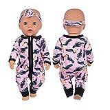 """Erichman 18""""muñeca Reborn lavable, muñeca recién nacida realista con mameluco impreso y sombreros (One size,E)"""