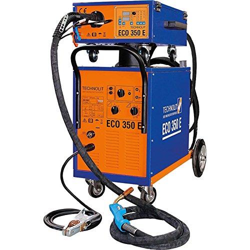 TECHNOLIT Eco 350 E Schutzgasschweißanlage MIG/MAG Vorschubkoffer wassergekühlt
