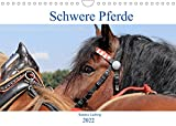 Schwere Pferde 2022 (Wandkalender 2022 DIN A4 quer)