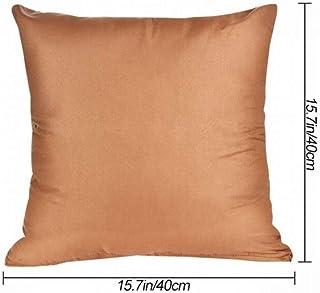 LXT Almohada Funda de Almohada Decorativa de algodón de Color Puro se USA para Poner Almohadas en Las Rodillas para Mantener un Buen sueño