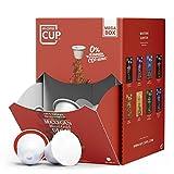 My-CoffeeCup – MEGA-BOX MEXICAN MAYA GOLD DECAF – BIO-KAFFEE I 100 Kaffeekapseln für Nespresso*-Kapselmaschinen I 100% industriell kompostierbare Kaffeekapseln – 0% Alu I Nachhaltige Kaffeekapseln