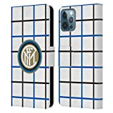 Head Case Designs Personalizzata Personale Inter Milan Away 2020/21 Kit Crest Cover in Pelle a Portafoglio Compatibile con Apple iPhone 12 / iPhone 12 PRO