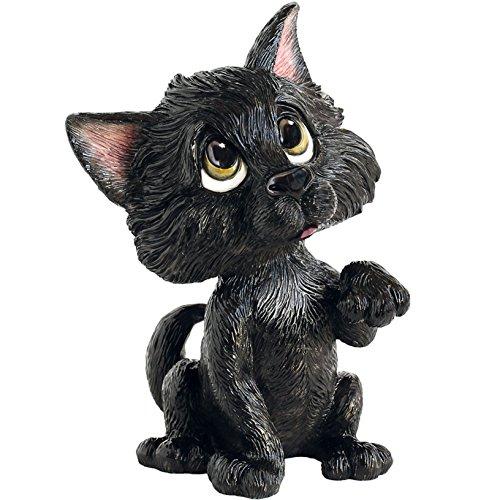 Little Paws 3043Lucky de Gato Negro Figura Decorativa