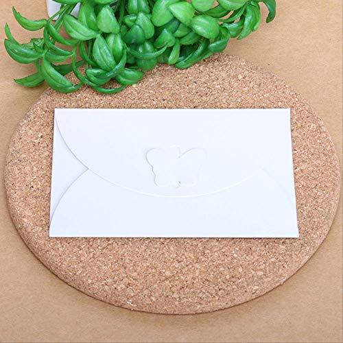 5 Sätze Nette Liebe Taste Schmetterling Schnalle Persönlichkeit Vintage Umschlag Perlglanz Umschlag 10,5X7,2 Cm-D