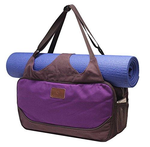 #DoYourYoga Bolsa de Yoga «Vimalaa Fabricada con Lona (Lienzo de...