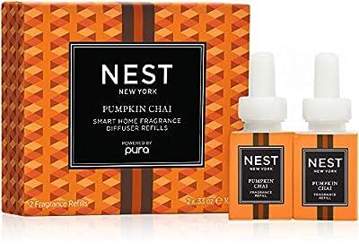 NEST Fragrances Pumpkin Chai Smart Home Fragrance Diffuser Refill (Set of 2)