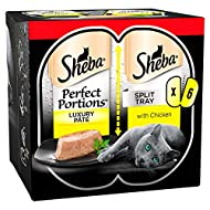 Sheba Perfect Portions with Chicken in Loaf, 6 x 37.5g
