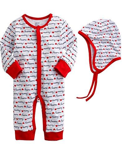 Vaenait baby - Barboteuse - Bébé (garçon) rouge Rot 86-92 cm