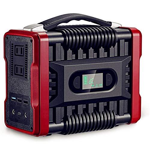 ポータブル電源 大容量 60000mAh/222Wh 家庭用蓄電池 モバイルバッテリー 正弦波 発電機 PSE認証済 照明灯 LEDライト AC(200W 瞬間最大320W)/DC/USB出力 急速充電QC3.0 ポータブルバッテリー 車中泊 キャンプ 釣