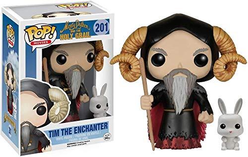 A-Generic Funko Monty Python y Holy Grail Figura # 201 Tim The Enchanter Pop! Multicolor