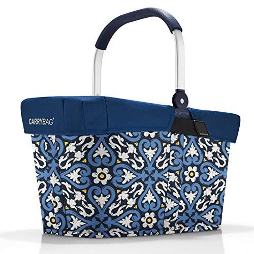 reisenthel Angebot Einkaufskorb carrybag Plus passendes Cover Sichtschutz Abdeckung (floral 1)