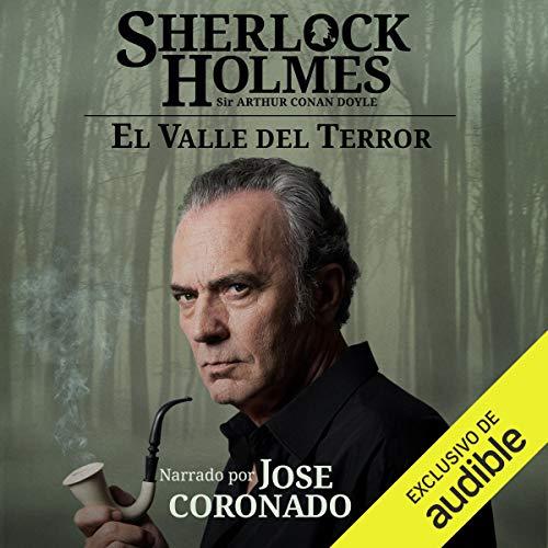 Diseño de la portada del título Sherlock Holmes - El valle del terror
