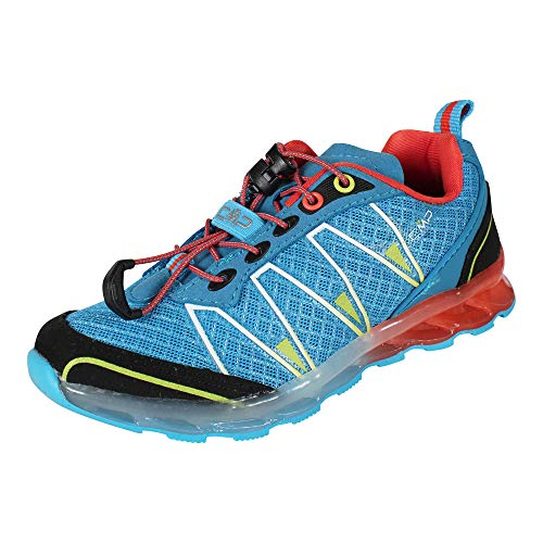 Campagnolo Enfants Chaussures de Jogging Altak Trail Shoes Indigo Orange, Schuhe Kinder:34