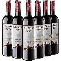 Pata Negra Vendimia Seleccionada Vino Tinto D.O Rioja, Crianza de 3 Meses, Pack de 6 Botellas x 75 cl: 450 cl - Volumen de Alcohol 13,5%