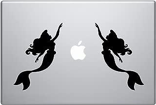 mermaid silhouette stickers