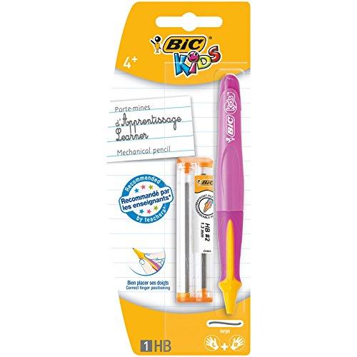 BIC Kids Learner Portaminas HB con Minas de Recambio (1,3 mm) – 1 unidad [colores surtidos]