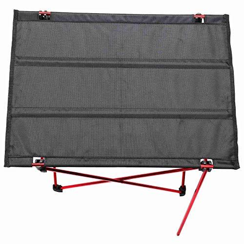 Baalaa Mesa plegable plegable portátil que acampa al aire libre Picnic 6061 aleación de aluminio ultraligero