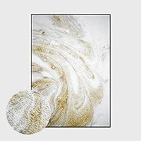 RTYUIHN 現代抽象プラチナ大理石白ループベルベットの寝室のリビングルームの廊下ドアカーペット床マットエリアカーペット