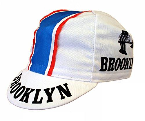 Brooklyn Cap Radmütze Radlercap (weiß)
