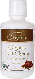 Swanson Tart Cherry Juice Concentrate 16 fl Ounce (1 pt) (473 ml) Liquid