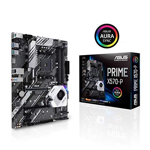 Asus Prime X570-P Ryzen 3 AM4 Carte mère PCIe Gen4 Dual M.2 HDMI, SATA 6 Go/s USB 3.2 Gen 2 ATX