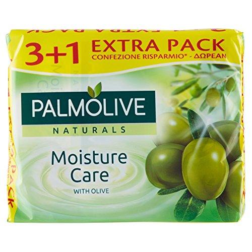 Palmolive naturals - Seife, angereichert mit Olivenextrakt - 360 g 4 Stück