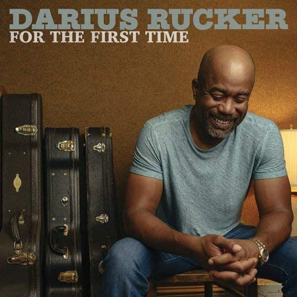 Price comparison product image Lost Posters Album Cover Poster Thick Darius Rucker The First TIME Limited 2017 giclee Record LP Reprint 'd / 100!! 12x12