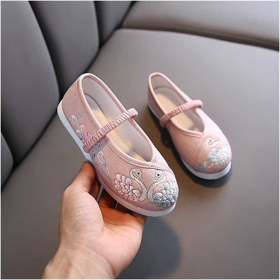 Jiahezi High material Hanfu New popularity Girls Embroidered Shoes Sh Cheongsam Cloth