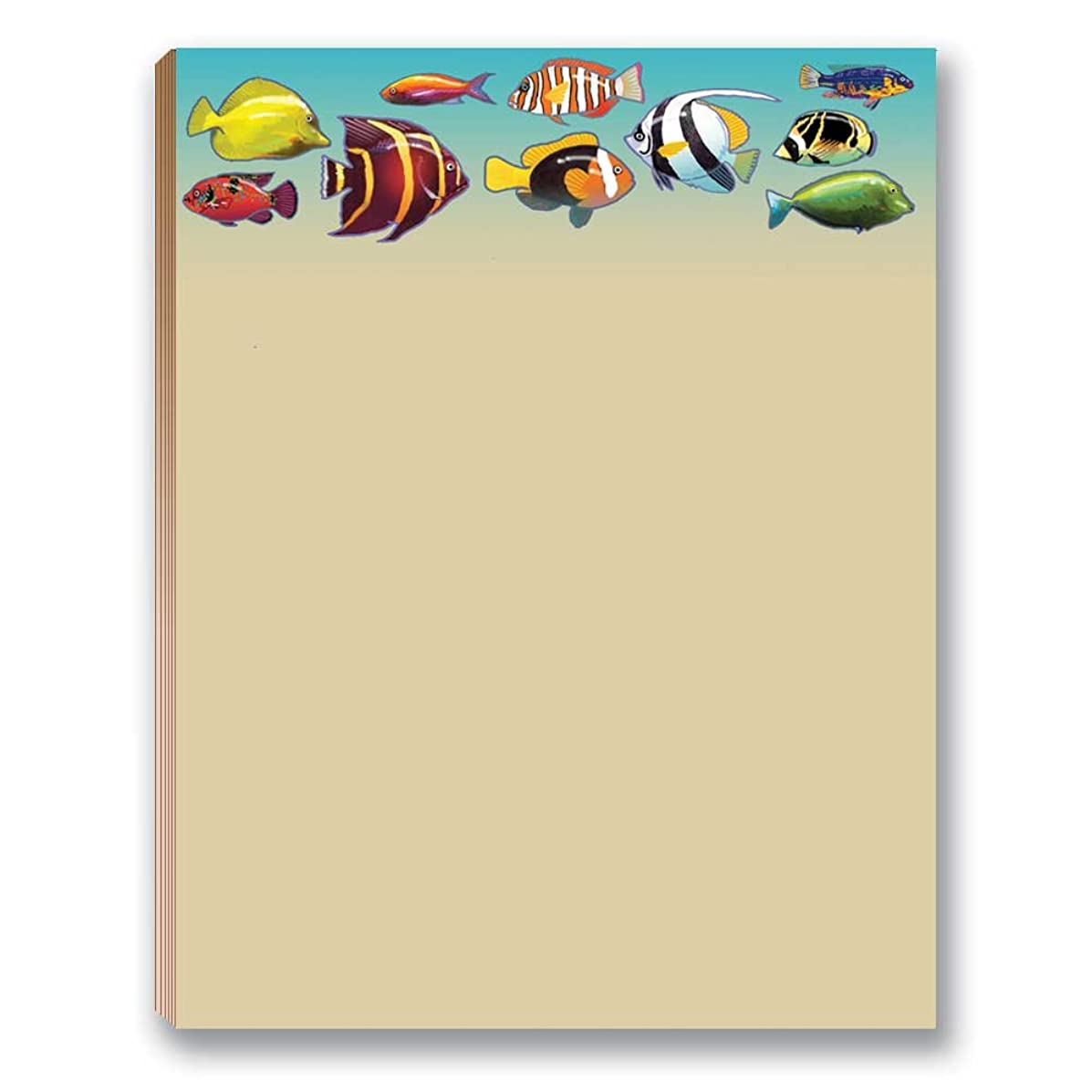 Tropical Fish Note Pad - Set of 2 Notepads