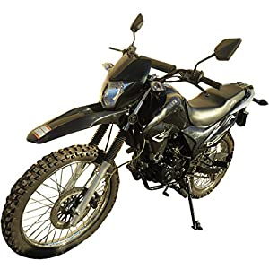 250cc Dirt Bike Hawk 250 Enduro Street Bike Motorcycle Bike ?Black from RPS