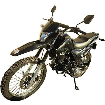 250cc Dirt Bike Hawk 250 Enduro Street Bike Motorcycle Bike ?Black from RPS
