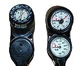 Polaris 3er Konsole mit Finimeter, Tiefenmesser und Kompass, klein, kompakt -