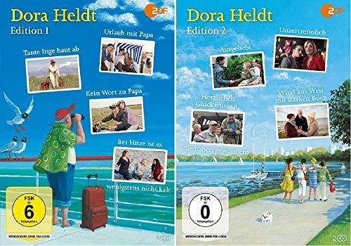 Dora Heldt - Edition 1+2 / 8 Filme u.a. Urlaub mit Papa / Tante Inge haut ab / Unzertrennlich [DVD Set]