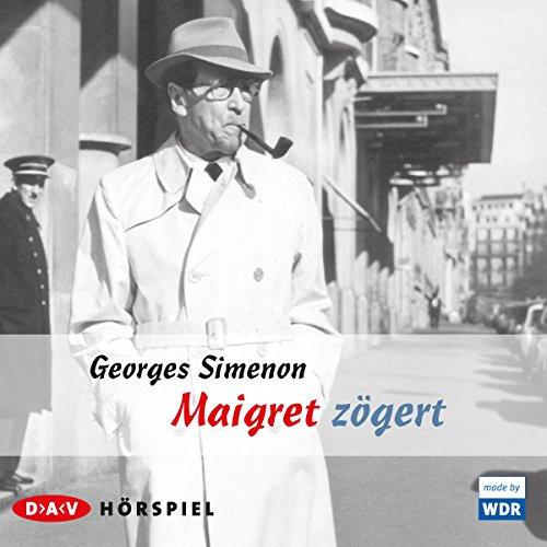 Maigret zögert audiobook cover art