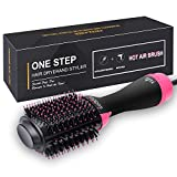 ikedon Hair Dryer Brush, Dry, Straighten & Curl One Step Hair Dryers with Negative Ion for Reducing...