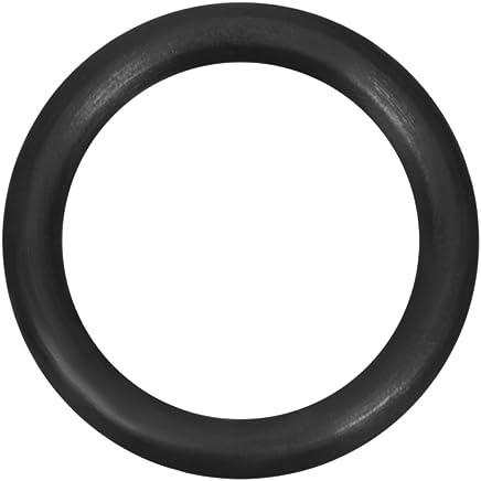 sourcing map Gli anelli toroidali gomma nitrile 15mm x 23mm x 4mm gli anelli tenuta guarnizione tenuta nero 10pz