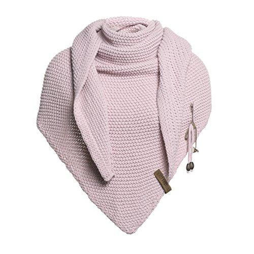 Knit Factory Coco Umhängetuch 190x85 Rosa
