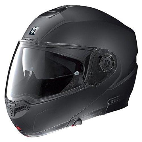 Nolan N104 Evo Outlaw Helmet (Flat Black, XXX-Large) by Nolan