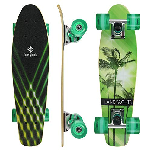 Penny Board, 22 Zoll Maple Skateboard Mit 4 Rädern 7 Layer Maple Deck Penny Board Für Kinder Anfänger(22.44×5.90×4.33in)