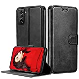 LeYi Case for Samsung Galaxy S21 5G case, Premium Leather