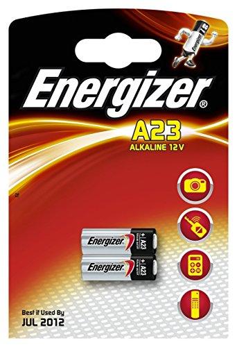 Energizer A23 Alkaline 12V-Batterien für Telefone / Kameras usw. - 2er Pack