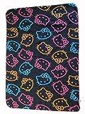 Hello Kitty Fleece Throw Plush Blanket 35'x50' New
