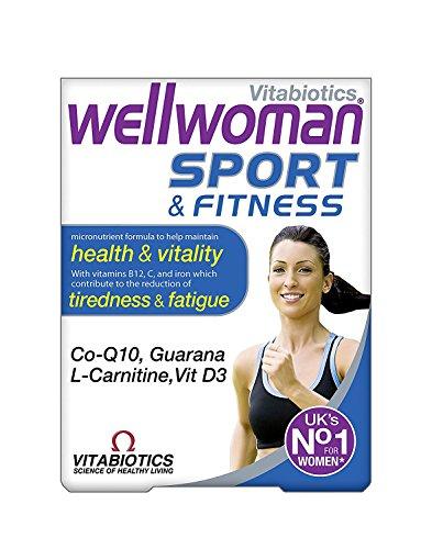Vitabiotics Wellwoman Sport and Fitness - 30 Tablets (Pack of 2)
