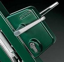 Green Swing Gate Lock industriële stijl poortslot van LOCINOX /Locinox LAKQ U2 Industrial Lock