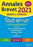 Annales Brevet 2021 Tout-en-Un