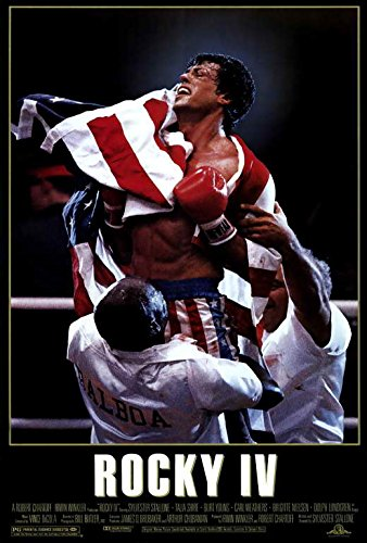 Rocky 4 Movie POSTER 27 x 40, Sylvester Stallone, Talia Shire, A, MADE IN THE U.S.A.