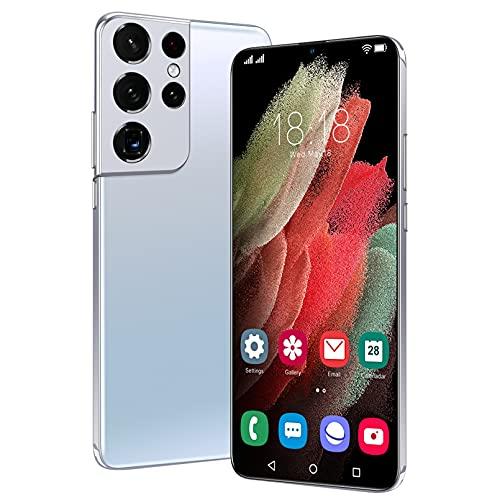 S12(2021) Móvil Libre Resistente Impermeable Smartphone De 6.7' Dual SIM, 4GB + 64GB, Android 11.0, Doble Cámara De 50MP+ 32MP, 6800mAh Batería GPS - Versión Global,White