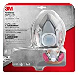 3M Half-face Household Multi-Purpose Drop Down Respirator, M
